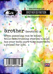 Visible Image Clear Stamp Set - Brother Definition